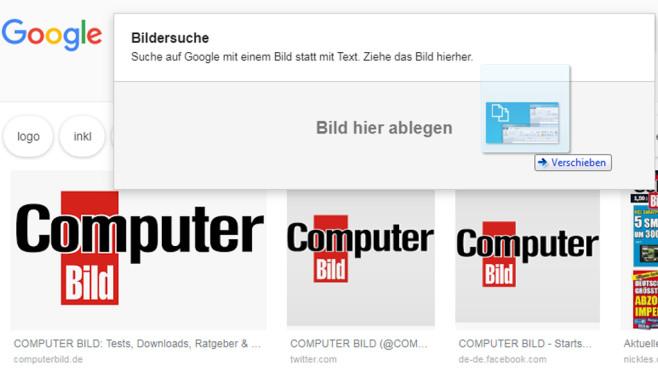 Bilder-Rückwärts-Suche ©COMPUTER BILD