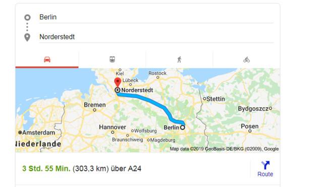 Karte mit Wegbeschreibung ©COMPUTER BILD