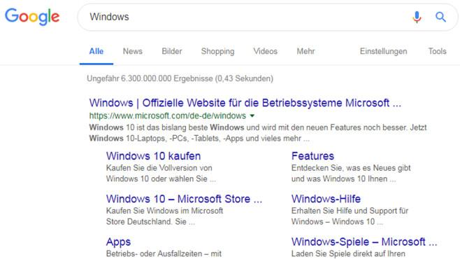 Tipps und Tricks zur Websuche mit Google©COMPUTER BILD