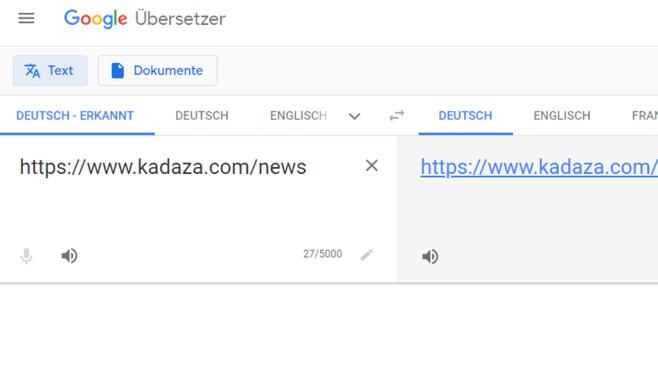 Webseiten übersetzen ©COMPUTER BILD