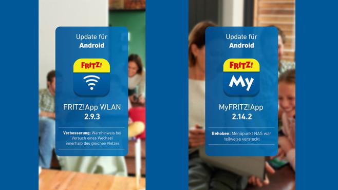 Updates für AVM-Apps©AVM
