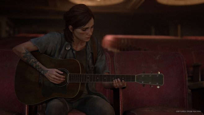 The Last of Us – Part 2: Ellie spielt Gitarre©Sony