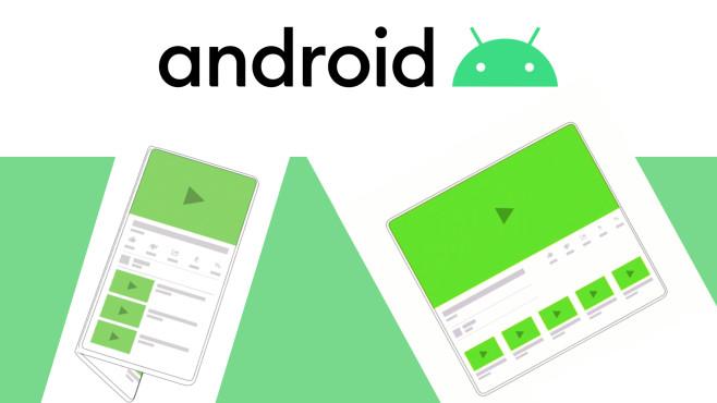 Android ist für Falt-Smartphones optimiert©Google, Android
