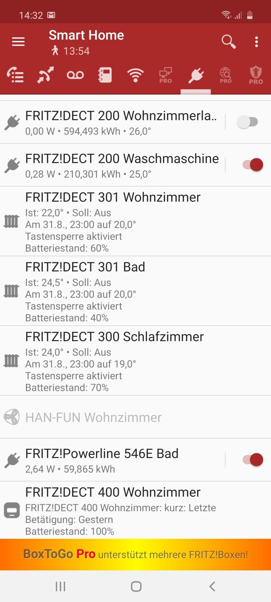 Screenshot 1 - BoxToGo Free (Android-App)