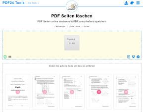PDF-Seiten entfernen
