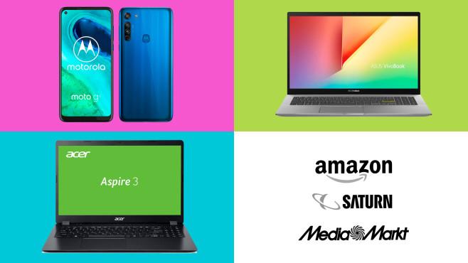 Amazon, Media Markt, Saturn: Die Top-Deals des Tages!©Amazon, Saturn, Media Markt, Motorola, Asus, Acer