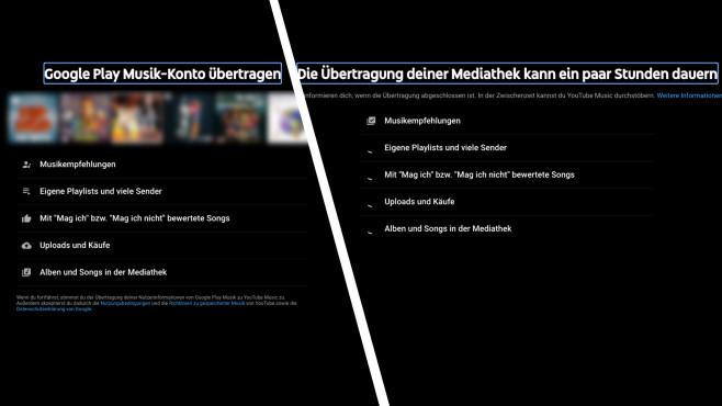 Google Play Music wird zu YouTube Music©Screenshot COMPUTER BILD