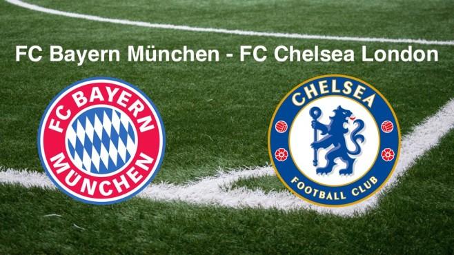 Champions League: München - Chelsea©FC Bayern München, FC Chelsea London