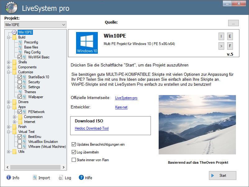 Screenshot 1 - LiveSystem Pro
