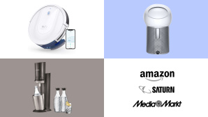 Amazon, Media Markt, Saturn: Die Top-Deals des Tages! © Amazon, Saturn, Media Markt, Eufy, SodaStream, Dyson