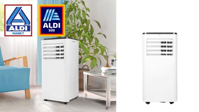 Mobiles Klimagerät bei Aldi im Angebot: Medion bringt Abkühlung Aldi-Angebot: Momentan ist das mobile Klimagerät Medion MD 18858 beim Discounter günstiger im Online-Sortiment.©Aldi Nord, Medion