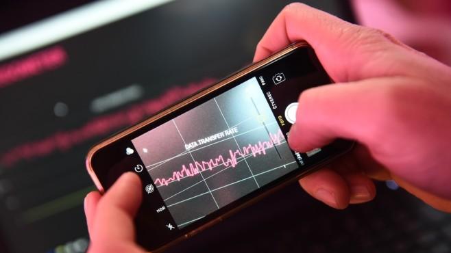 Telekom-5G auf einem Smartphone©Telekom