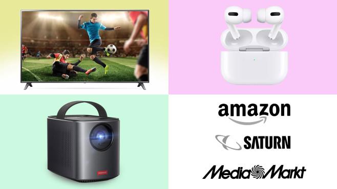 Amazon, Media Markt, Saturn: Die Top-Deals des Tages!©Amazon, Saturn, Media Markt, Apple, LG, Anker
