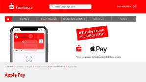 Sparkasse Girocard Apple Pay © Sparkasse