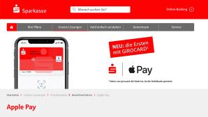 Sparkasse Girocard Apple Pay©Sparkasse
