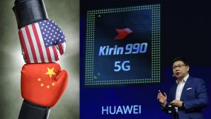 Huawei und die USA im Kampf©iStock.com/Zerbor, TOBIAS SCHWARZ/gettyimages
