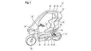 Nachfolger des BMW C1©European Patent Office,  BMW