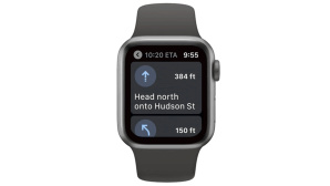 Google Maps auf der Apple Watch © Google