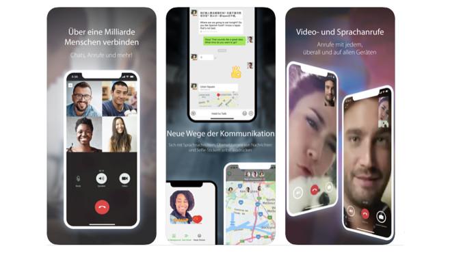 WeChat©Apple App Store / Tencent