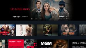 Startseite der Amazon Prime Video Channels © Amazon
