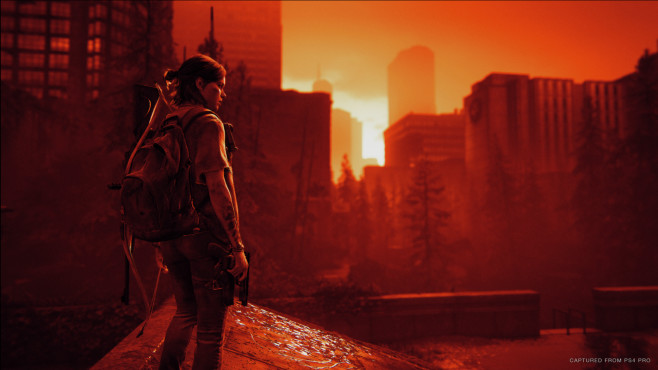 The Last of Us – Part 2: Grafikfilter aktiviert © Sony