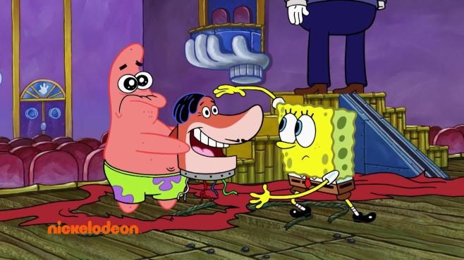 Patrick und SpongeBob©Nick