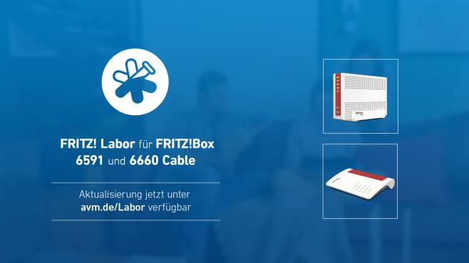 Fritz Labor für FritzBox 6591 und 6660©AVM