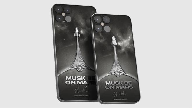 iPhone 12 Musk Be On Mars©Caviar