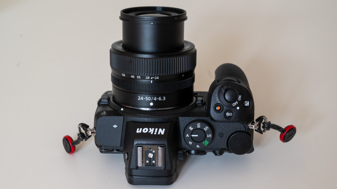 Nikon Z5 von oben©COMPUTER BILD