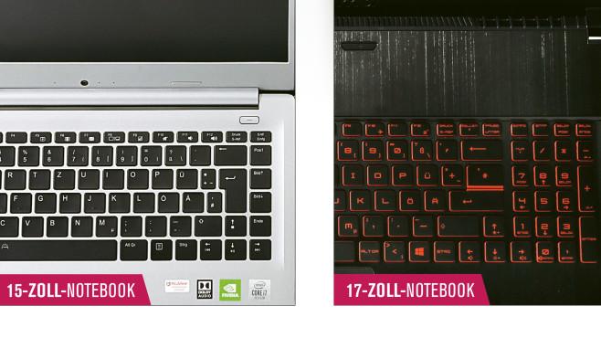 17-Zoll-Notebook-Test©OMPUTER BILD
