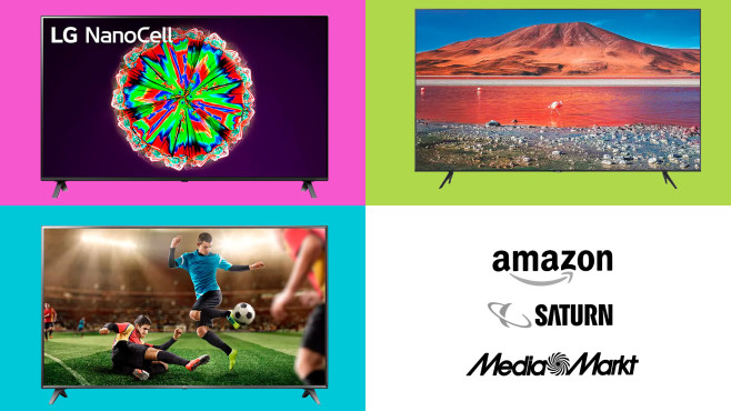 Amazon, Media Markt, Saturn: Die Top-Deals des Tages!©Amazon, Saturn, Media Markt, LG, Samsung
