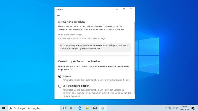 Windows 10 2004: Cortana funktioniert nicht mehr – das können Sie tun©COMPUTER BILD