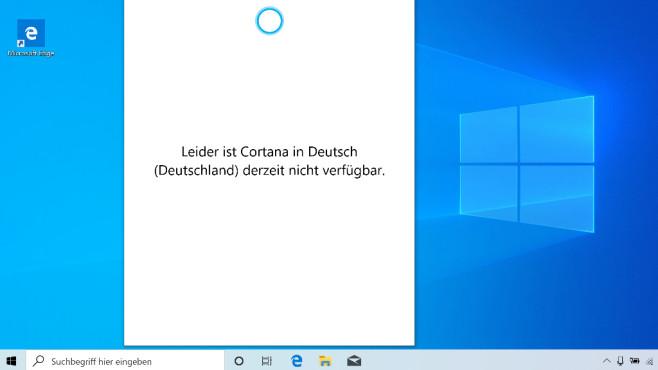 Windows 10 2004: Cortana funktioniert nicht mehr – das können Sie tun Cortana ist unter Windows 10 2004 zunächst nicht zur Arbeit zu bewegen.©COMPUTER BILD