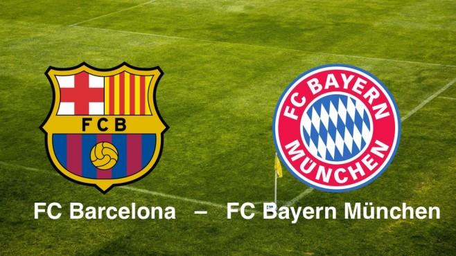 Champions League: Barcelona - Bayern©FC Barcelona, FC Bayern München