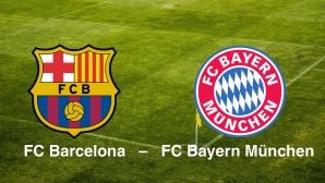 Champions League: Barcelona - Bayern©FC Barcelona, FC Bayern M�nchen
