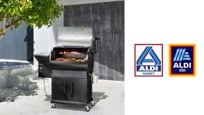 Smoker bei Aldi im Angebot: Grillen, Smoken und mehr zum Discounterpreis©Aldi, Z Grills