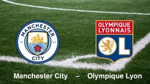 Champions League: Manchester – Lyon©Manchester City, Olympique Lyonnais