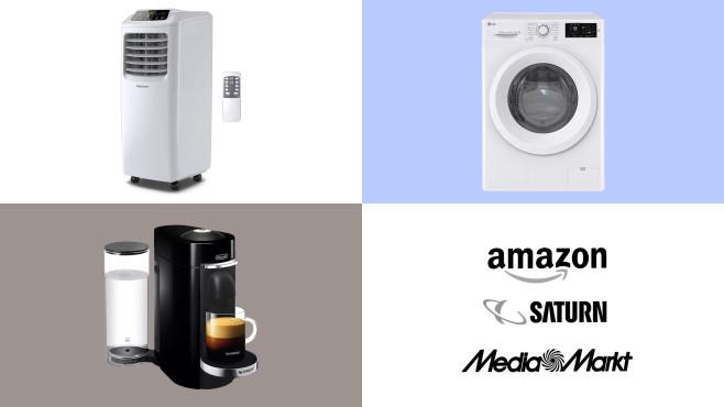 Amazon, Media Markt, Saturn: Die Top-Deals des Tages!©Amazon, Saturn, Media Markt, LG, Pro Breeze, De'Longhi