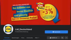 Lidl-Fake-Seite©Screenshot Facebook