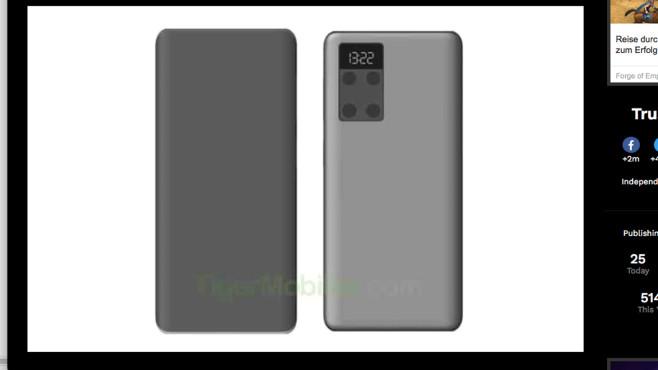 Huawei: Mini-Display©Huawei / androidheadlines.com