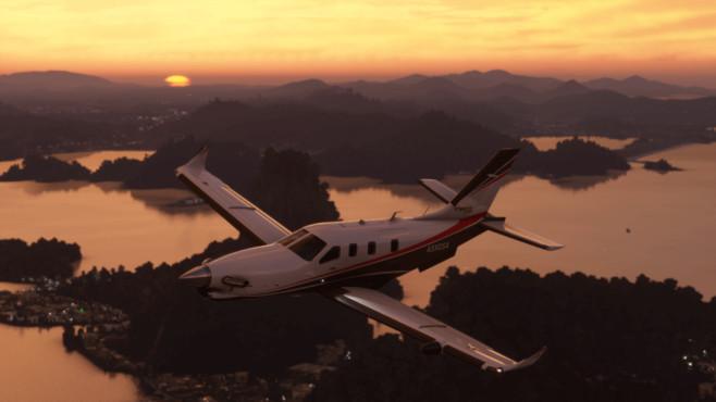 Screenshot: Flight Simulator 2020©Microsoft