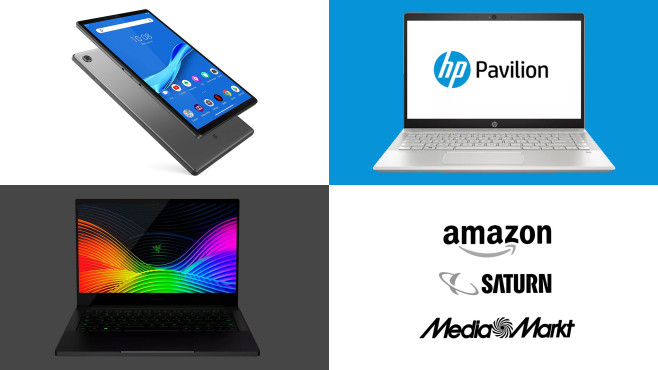 Amazon, Media Markt, Saturn: Die Top-Deals des Tages!©Amazon, Media Markt, Saturn, Lenovo, HP, Razer