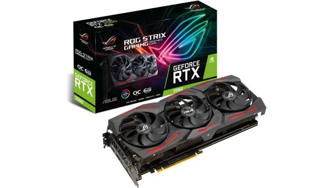 ASUS GeForce ROG STRIX RTX 2060 O6G EVO GAMING©Asus