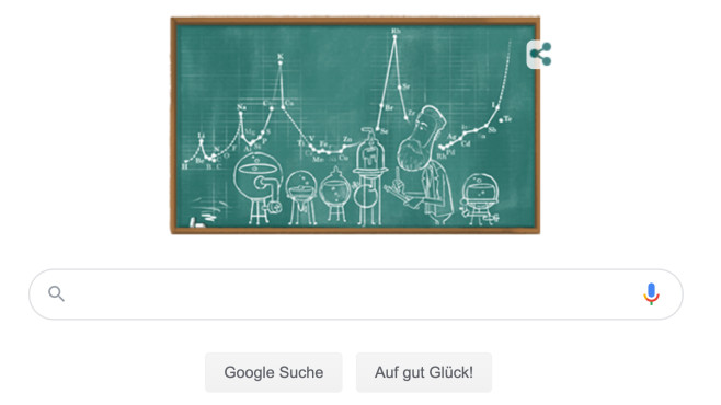 Google Doodle für Julius Lothar Meyer©Google