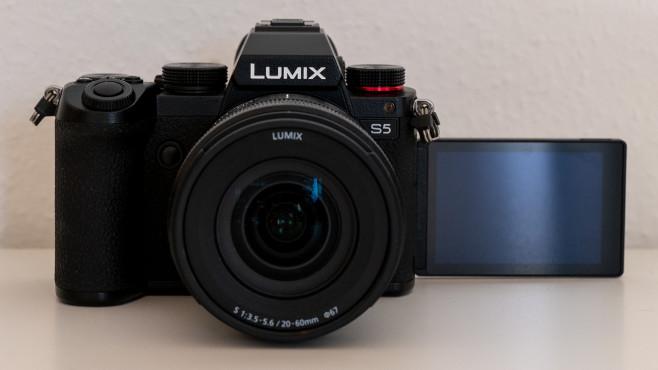 Panasonic Lumix S5 Schwenk-Display©COMPUTER BILD