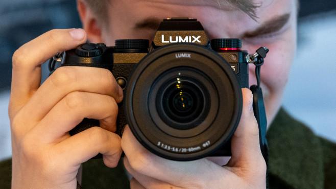 Panasonic Lumix S5 im Praxis-Test©COMPUTER BILD
