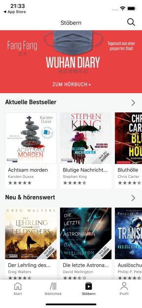 Audible Hörbücher & Podcasts (App für iPhone & iPad)