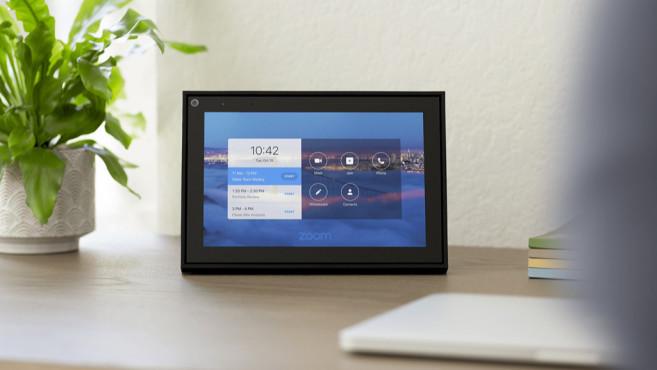 Zoom auf dem Smart Display©Zoom