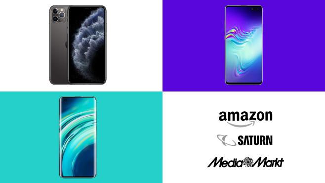 Amazon, Media Markt, Saturn: Die Top-Deals des Tages!©Amazon, Media Markt, Saturn, Apple, Samsung, Xiaomi
