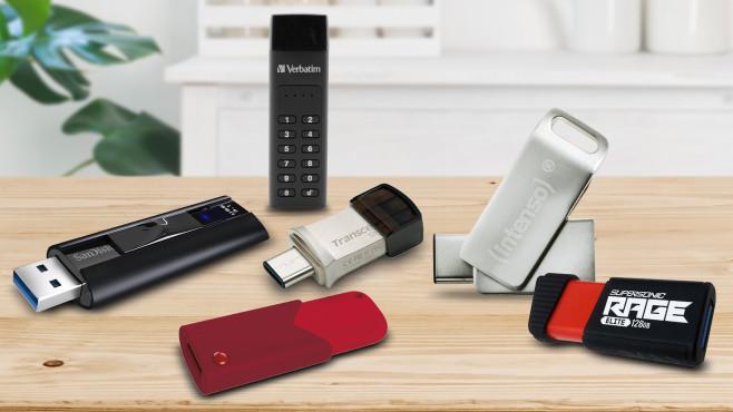 USB-Stick-Test: 128-GB- und 64-GB-Modell im Vergleich©iStock.com/didecs